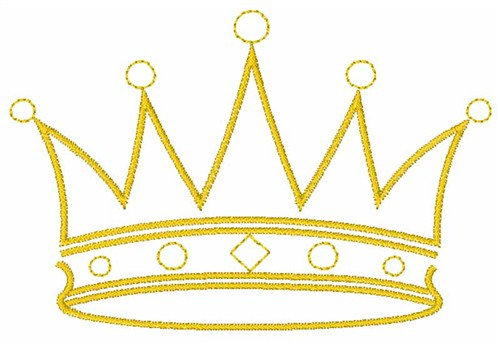 king crown embroidery design annthegran clip art crown of thorns clip art crowns and tiaras