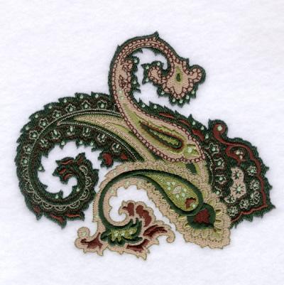 Paisley 2 Large Embroidery Design Annthegran