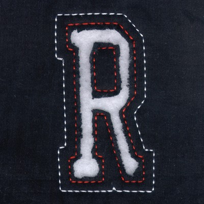 R Cutout Letters Embroidery Design Annthegran