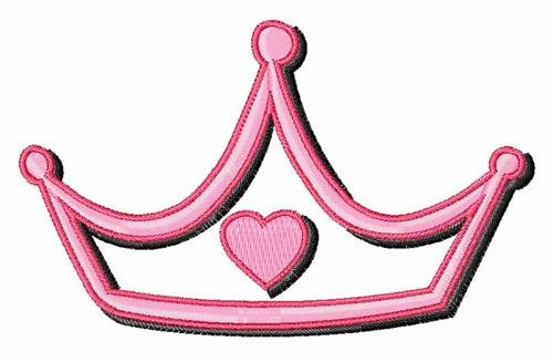 Tiara Princess Embroidery Design - People Embroidery Designs ...