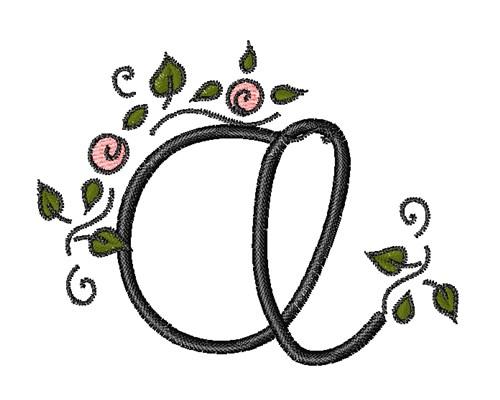 Rose Vine Swirl A Embroidery Design Annthegran