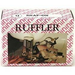 Ruffler Snap-On Adjustable with Non Stick Fork