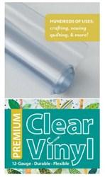 Premium Clear Vinyl Roll (16 inch x 1.5 yard roll)
