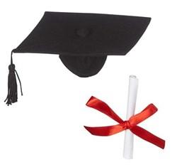 Graduation Hat & Diploma
