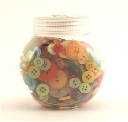 Buttons Galore Jar