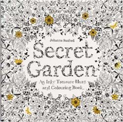 Secret Garden - Inky Treasure Hunt & Coloring Book