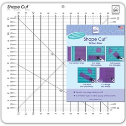 "Shape Cuts Ruler - 1/2"" June Tailor"