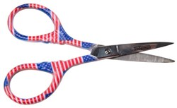 Patriotic Embroidery Scissors