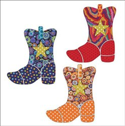 Yee-Haw - Set of 3 Applique Pieces