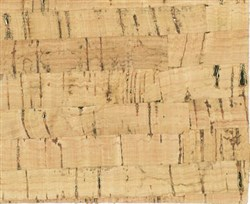 Cork Fabric  Natural & Gold