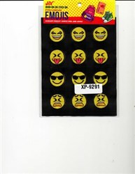 Embroidered Emoji Sheets