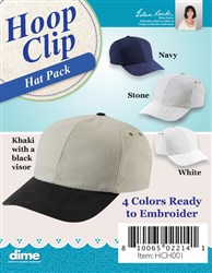 Hat Pack for the Magnetic Hoop Clip