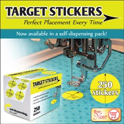 250 pack of Target Stickers