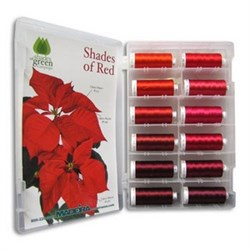 Classic Rayon Red Shade Kit