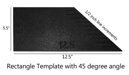 rectangle template with 45 degree angle annthegran